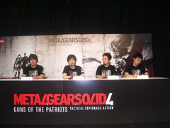 The geniuses behind Metal Gear Solid 4