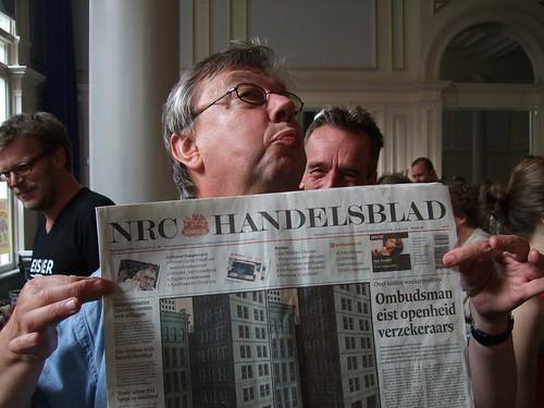 Hansje Joustra op Stripdagen Haarlem