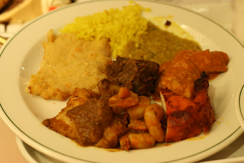 Madras Curry Buffet