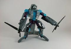 Transformer Incinerator Movie Voyager - modo robot