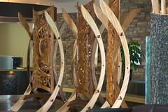 Lobby Art (ted.sali) Tags: wood art hotel radisson carving resort manitoba lobby hecla
