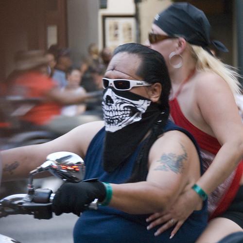 How to wear a bandana like a biker