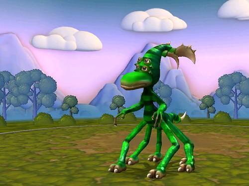 Spore Creature: Cucumbersome