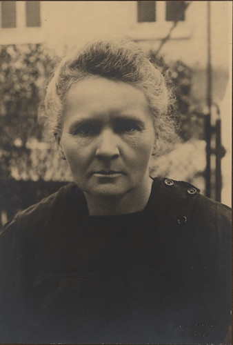 Portrait of Marie Curie (1867-1934), Physicist<br />