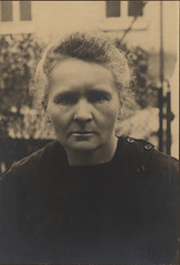 Portrait of Marie Curie (1867-1934), Physicist