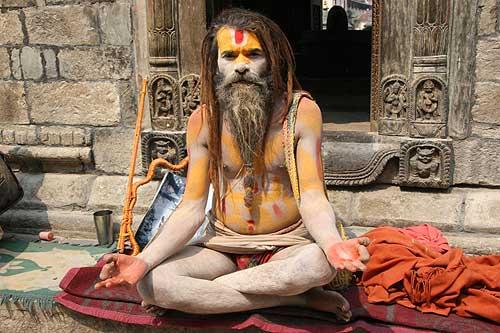 Medicine Man in Nepal