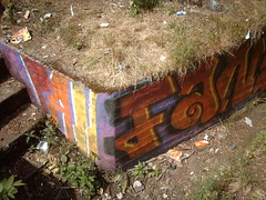 Graffitied WW1 trench (hugovk) Tags: camera summer abandoned june digital suomi finland geotagged helsinki war wwi ab trench worldwarone ww1 helsingfors fortification hvk russian 1915 2008 fortress remains base firstworldwar sveaborg worldwar1 kes asema uusimaa krepost nyland keskuu xxxv mkkyl graffitied southernfinland position3 hugovk geo:country=finland xxxv3 exif:ISO_Speed=50 tukikohta krepostsveaborg fortressofsveaborg maalinnoitus basexxxv geo:lat=60229542 tukikohtaxxxv pivlisenpuisto reimarlia knala tukikohtaxxxv3 basexxxv3 asema3 068kmtoknalainsouthernfinlandfinland imag4104 geo:lon=24857508 exif:Focal_Length=77mm digitalcamerads5mp exif:Flash=autodidnotfire exif:Aperture=30 exif:Orientation=horizontalnormal exif:Exposure_Bias=0 uudenmaanmaakunta geo:county=uudenmaanmaakunta geo:region=southernfinland ds5mp camera:Model=ds5mp camera:Make=digitalcamera exif:Exposure=1338 geo:locality=mkkyl graffitiedww1trench meta:exif=1364132155