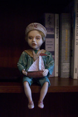 The chocolate boy (Marija Malickaite) Tags: art doll dolls handmade craft fimo lithuania   lls ll
