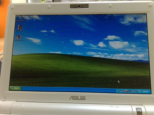 Windows XP on my Eee PC!