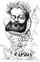 CAMES, Lus de (Morales de los Ros) Tags: writers caricaturas philosophers caricatures escritores filsofos