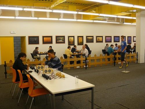De eenzame schakers