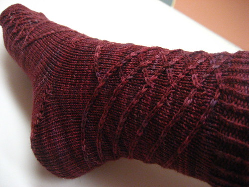 Knitty Twist Socks