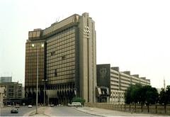 Building in Kuwait City (DigitalTribes) Tags: storm war peace desert iraq 1991 iraqi dt digitaltribes operationdesertstorm markoneil