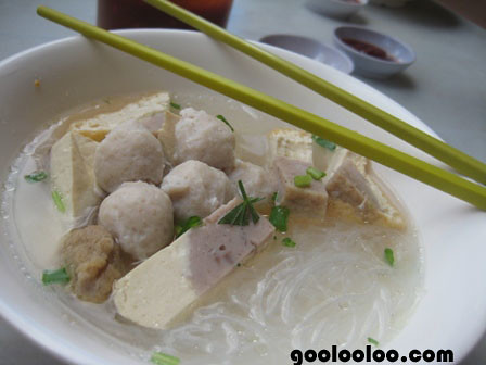 fishball tanghoon