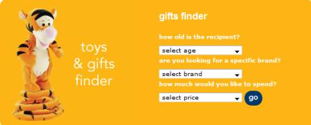 Mother toy and gift finder