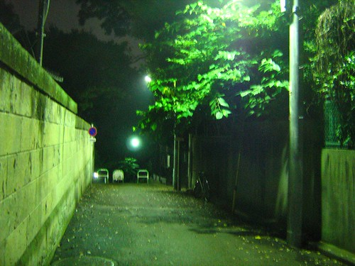 Late night solitary walk 1