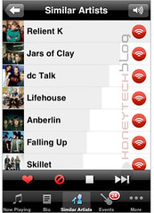 Last.fm for your iPhone