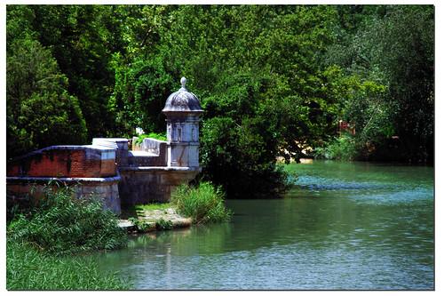 río Tajo por Aranjuez