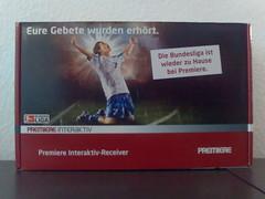 """Premiere Bundesliga """"Eure Gebete wurden erhöht"""""""