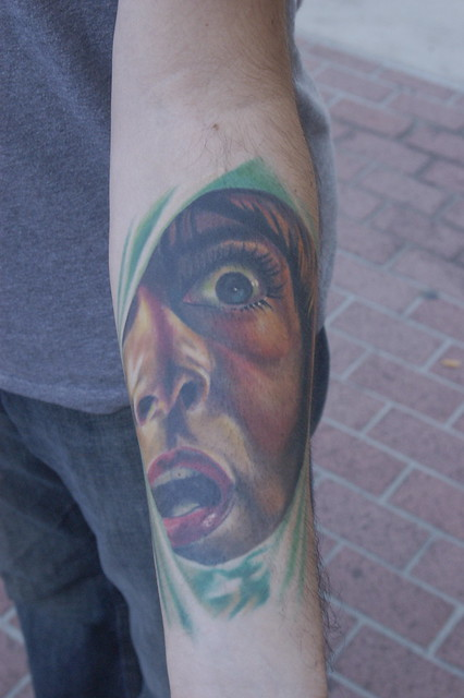 Comic Con 2008: Horror Movie Tattoo