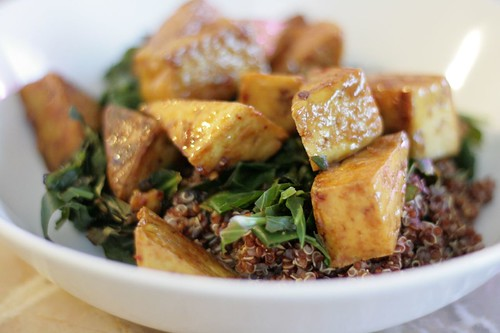 Chili lime tofu