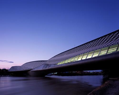 Zaragoza Bridge Pavilion. Zaragoza Bridge Pavilion by