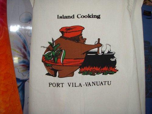 Apron sold to tourists