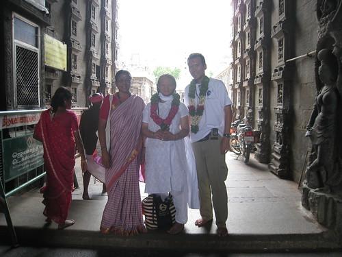 Bhanu, Kamaa and I