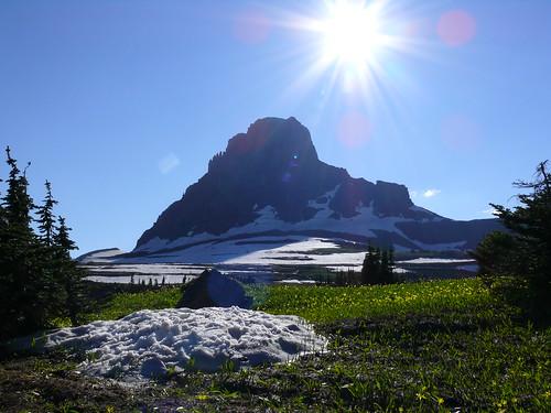 Logan's Pass Glacier National Park MT