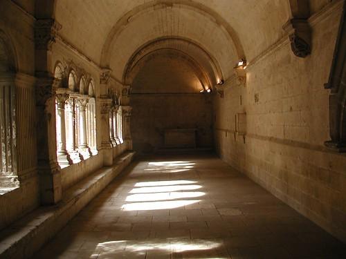 Cloisters at Abbaye de Montmajour