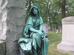 Harrison Monument (Dave Garvin) Tags: cemetery detroit woodlawn mausoleums