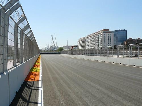 Valencia Street Circuit 4,000 vel 313 kmh P Frenada
