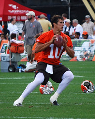 130 (skiereast64) Tags: football nikon cleveland nfl clevelandbrowns trainingcamp bradyquinn d40x brownstrainingcamp2008