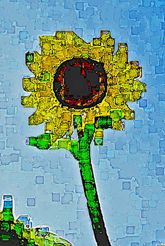 Cubist Sunflower 4.2