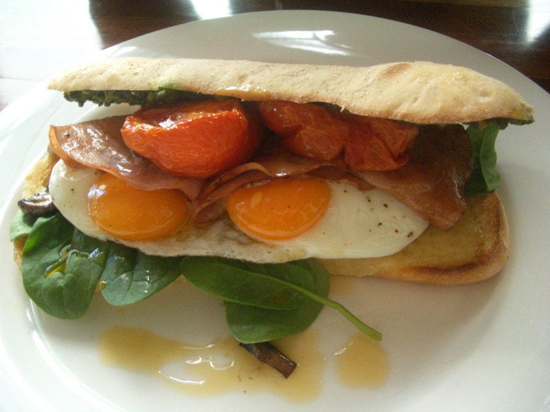 Digable breakfast panino