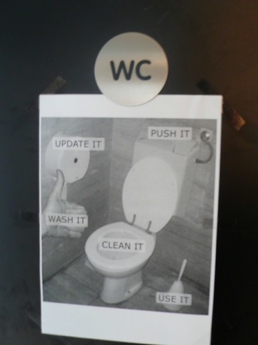 Push it, clean it, wash, update it!