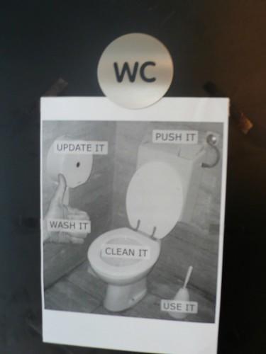 Push it, clean it, wash, update it!