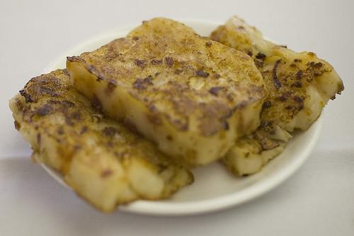 Dim Sum Turnip Cake