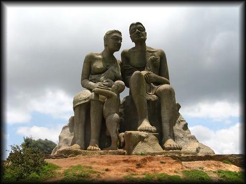 kuravan - kurathi statue, Ramakalmedu