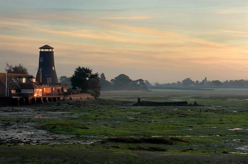Langstone Mill - November dawn