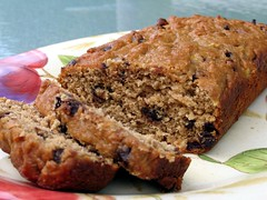 pb choc chip banana bread