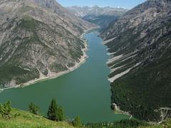 Lago di Livigno dai Crocioni
