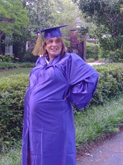 Pregnant and Graduating (da_mere) Tags: graduation catherine greenville familyfunday