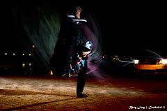 Urban Joey 3 (ND-Photo.nl) Tags: pink light boy portrait pet man motion black green abandoned hat fashion yellow stone yard train silver concrete shoe lights graffiti diy movement twilight model nikon shoes ship break action joey flash skills dude jacket cap abandon slowshutter denim a3 breakdance nikkor shipyard adidas audi portret bboy 2008 mode geel zwart adrenaline thrills trainer breaker trainyard manfrotto cls roze stopaction 1870 jongen d300 twi zilver lightsphere sb800 speedlite snoot 190xprob
