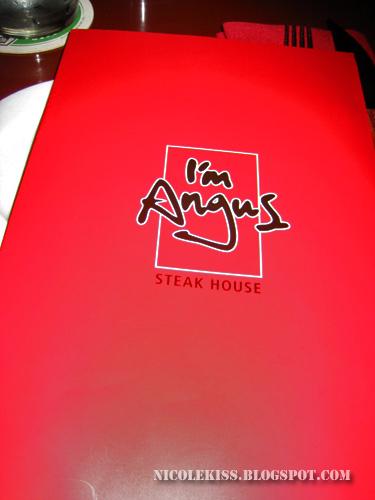 i'm angus menu