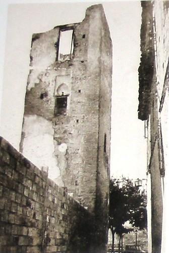 Iglesia de San Cristóbal (Toledo) antes de su demolición