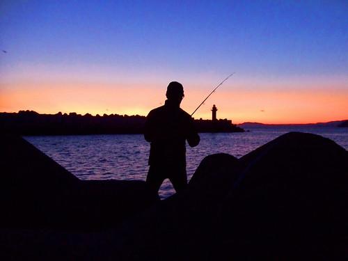古平漁港ソイ釣り2008.9.11