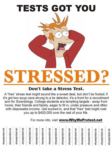 Stress Test Flier for Universities
