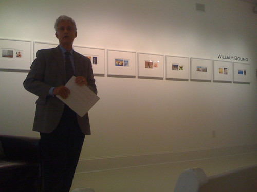 William Boling's Artist Lecture @ Hagedorn Foundation Gallery