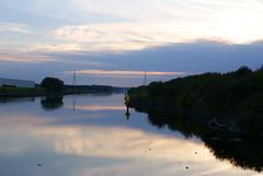 Ship canal 1 (Mortarman101) Tags: water evening canal warrington moore wharf waterway halton manchestershipcanal wiggisland